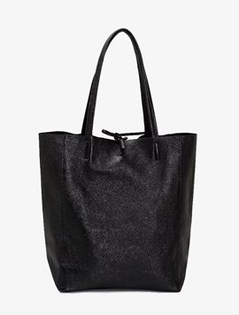 Black(NO.L022) shopper bag - Large