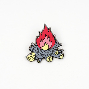 CAMPFIRE PIN BY PAUL WINDLE